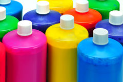 Die Farbe des Künstlers Stockbilder