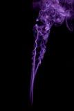 Die Farbe des Rauches auf Schwarzem Lizenzfreie Stockfotografie