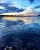 Die Farbe des Wassers Lizenzfreies Stockfoto