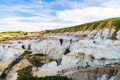 Die Farbe gewinnt interpretierenden Park Colorado Springs Calhan stockbild
