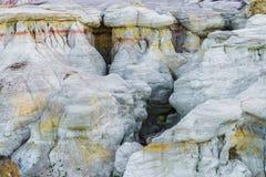 Die Farbe gewinnt interpretierenden Park Colorado Springs Calhan lizenzfreie stockbilder