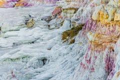 Die Farbe gewinnt interpretierenden Park Colorado Springs Calhan Lizenzfreie Stockfotos