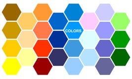 Die Farbe von befleckt Lizenzfreies Stockbild