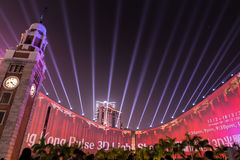 Die Farbe von Hong Kong Stockfotografie