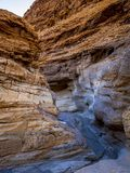 Die Farben der Mosaik-Schlucht an Nationalpark Death Valley Stockbild