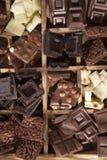 Die Farben der Schokolade Lizenzfreie Stockbilder