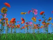 Die Farben des Frühlinges Stockbild