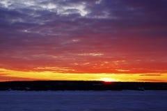 Die Farben des Himmels Stockfoto