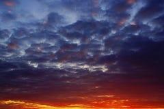 Die Farben des Himmels Lizenzfreies Stockfoto