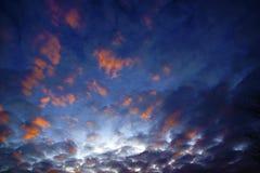 Die Farben des Himmels Stockfotografie