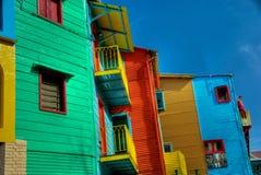 Die Farben von Caminito Lizenzfreies Stockbild