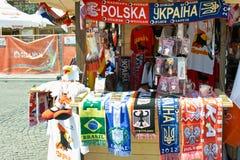 Die Farben von Euro 2012. Stockbilder