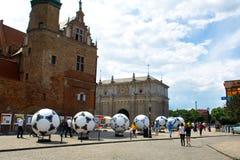 Die Farben von Euro 2012. Stockbild