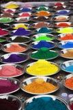 Die Farben von Indien Stockfotos