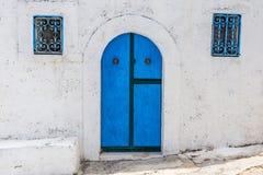 Die Farben von Peschici (Puglia-Italien) stockbilder