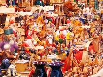 Die Farben von Weihnachten Stockbild