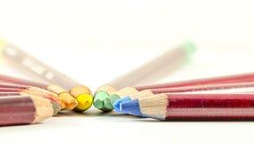 Die farbigen Bleistifte Lizenzfreies Stockbild