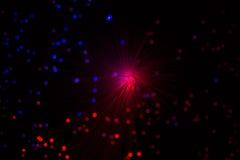 Die Farblampenglasfaser Lizenzfreie Stockbilder