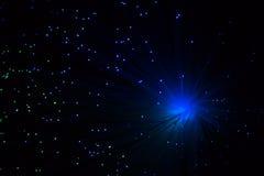 Die Farblampenglasfaser Stockfotos
