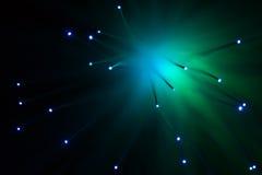 Die Farblampenglasfaser Stockbilder