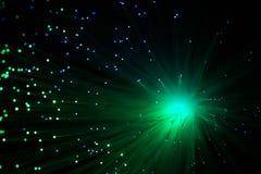 Die Farblampenglasfaser Stockfoto