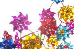 Die Farbwindmühle Lizenzfreies Stockfoto