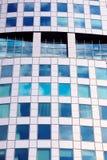 Die Fassade des Bürogebäudes Lizenzfreie Stockfotos