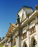 Die Fassade des Gebäudes in Porto, Portugal Lizenzfreie Stockbilder