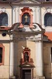 Die Fassade des Tempels Prag, Tschechische Republik Lizenzfreie Stockfotografie