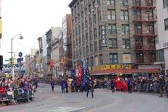 Die Feier 2014 Chinesischen Neujahrsfests in NYC 2 Stockfotografie