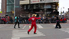 Die Feier 2014 Chinesischen Neujahrsfests in NYC 60 Lizenzfreies Stockbild