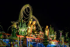Die Feier des Buddha-Tages, Vesak - Vesakha - Waisak an B Stockfoto