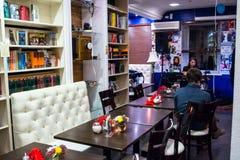 Die Feier des Jahrestages von Café Buchgemeinschaft 12 Stockfotografie