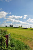 Die Felder und die Landschaft von England Stockbilder