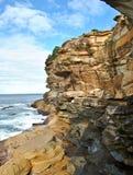 Die Felsen gebildet durch Abnutzung Lizenzfreie Stockfotografie