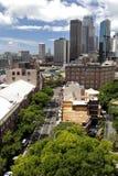 Die Felsen, Sydney stockbilder
