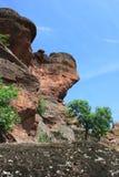 Die Felsen von Belogradchik in Bulgarien Stockfotografie