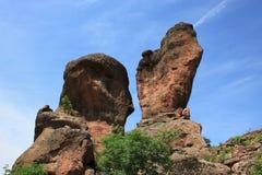 Die Felsen von Belogradchik in Bulgarien Lizenzfreie Stockbilder