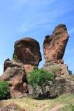 Die Felsen von Belogradchik in Bulgarien Lizenzfreie Stockfotos