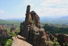Die Felsen von Belogradchik in Bulgarien Lizenzfreie Stockfotografie