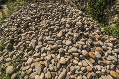 Die Felsen?, was sie unten dort tuend haben? Stockfoto