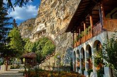 Die Felsenkloster Str. Dimitrii von Basarbovo Stockbilder
