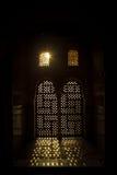 Die Fenster des Alhambras, Granada Lizenzfreie Stockfotos