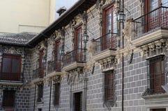 Die Fenster in Granada Lizenzfreie Stockfotos