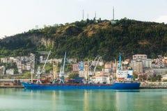 Die festgemachten Schiffe Lizenzfreies Stockfoto