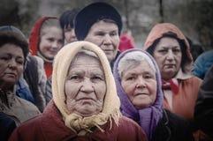 Die festliche Sitzung von kann 9, 2017, in der Kaluga-Region von Russland Stockfoto