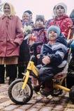 Die festliche Sitzung von kann 9, 2017, in der Kaluga-Region von Russland Stockbilder