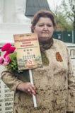 Die festliche Sitzung von kann 9, 2017, in der Kaluga-Region von Russland Lizenzfreies Stockbild