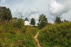 Die Festung auf dem Hügel Lizenzfreie Stockfotografie