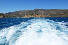Die Festung auf Spinalonga-Insel Lizenzfreies Stockfoto